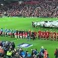 """""""The Champions!"""". I napoletani si fanno sentire, ma il canto dell'Anfield Road li sovrasta [VIDEO]"""
