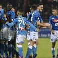 SSC Napoli, i dati di fine anno: dieci calciatori in gol, ci sono anche due neo-acquisti