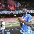 SSC Napoli, i dati di fine anno: diciassette azzurri ammoniti, Koulibaly il più cattivo di tutti