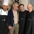 Cucina gourmet a casa Ancelotti: appuntamento natalizio per la famiglia del mister del Napoli! [FOTOGALLERY]