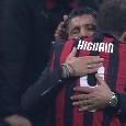 """Milan, Gattuso: """"Non sono deluso da Higuain, giusto non convocarlo perchè non è pronto. Accetto la sua scelta ma poteva fare di più..."""""""