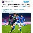 """Ghoulam sui social: """"Vittoria e quarti di finale conquistati. bravi ragazzi e...che bello l'esordio di Gaetano"""" [FOTO]"""