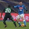 L'eleganza di Fabian Ruiz e lo strapotere di Koulibaly: il giorno dopo Napoli-Sassuolo