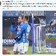 """Fabiàn sui social: """"Che emozione il primo gol nel nostro stadio, soddisfatto per il passaggio del turno"""" [FOTO]"""