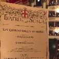 Il Napoli al teatro <i>Alla Scala</i>, toccante testimonianza di una donna sopravvissuta all'olocausto [FOTO]