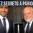 Calciomercato Napoli, affare da 100 mln col PSG: incontro segreto nella notte!