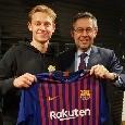 UFFICIALE - Accostato al Napoli, De Jong è un nuovo calciatore del Barcellona