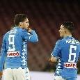 Napoli-Torino, i convocati di Ancelotti: recuperati Verdi e Mertens, assenti Mario Rui e Gaetano