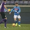 Zurigo-Napoli, Mertens nemmeno in panchina. Ancelotti ha scelto Gaetano