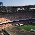 ESCLUSIVA - Stadio San Paolo: maxischermi fissati alla copertura, posti assegnati e tribuna Posillipo rivoluzionata. Nuovo spogliatoio anche per i giocatori: tutte le novità