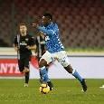 Primo cambio per il Napoli: Ancelotti tira fuori Allan, sul campo ci va Diawara