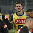 Fabiàn lascia gli spogliatoi dello stadio di Zurigo zoppicando vistosamente [FOTOGALLERY CN24]