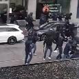 Guerriglia a Zurigo, tutte le immagini del giorno: scontri terribili tra i 2 gruppi ultras [VIDEO]