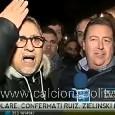 """Battibecco Alvino-tifosi anti De Laurentiis. spintoni in diretta fuori al San Paolo: """"Te ne devi andare!"""" [VIDEO]"""
