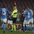 Gli strafalcioni di Fabbri e la disperazione per i gol divorati dagli azzurri: tutti gli scatti di Napoli-Torino [FOTOGALLERY CN24]