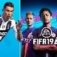 Fifa 19, nuova immagine di copertina: non c'è più C.Ronaldo