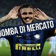 "Calciomercato Napoli, Mediaset annuncia: ""Il Napoli vuole Icardi, telefonata con Wanda Nara"""