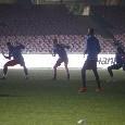 Zurigo-Napoli, black out al San Paolo durante l'allenamento del club svizzero [FOTOGALLERY CN24]