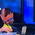 Atlético Madrid-Juventus, il bianconero Pompilio scoppia in lacrime in diretta [VIDEO]