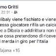 """UFFICIALE - Sospeso Massimo Gritti per espressioni di discriminazione territoriale, il Ds di Treviglio commentò: """"Napoletani di me***"""""""