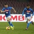Sky - Hysaj, Mertens ed Insigne non prenderanno parte alla sfida contro l'Empoli: torneranno per la gara contro il Genoa