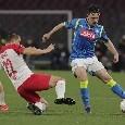 Europa League, Mario Rui diffidato in vista dei quarti
