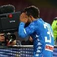 Napoli-Udinese dalla A alla Z: la storia particolare, Mertens si smarca e i richiami di Ancelotti