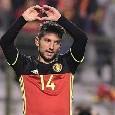 Belgio, la lista dei convocati per la Nations League: c'è Mertens ed il volto nuovo Saelemaekers