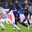 """Inter, Asamoah: """"Faremo la nostra partita a Napoli ma non sarà semplice. C'è da lavorare tanto"""""""