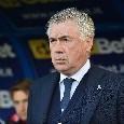 """Ancelotti a DAZN: """"Mancate testa e gambe, ko meritato. L'Empoli ha preso il sopravvento, nessuna sconfitta è fisiologica. Sull'Arsenal..."""""""