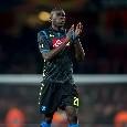 """Koulibaly: """"Mi dispiace che tutti ce l'abbiano con Insigne, lui va sostenuto sempre perchè rappresenta il Napoli. Gli voglio un sacco di bene..."""""""