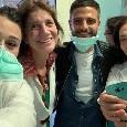 Insigne fa tappa all'ospedale Pausilipon per i bimbi meno fortunati [FOTOGALLERY]