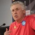 """Ancelotti in conferenza: """"Nessun dramma, futuro già programmato: il Napoli non ha giocato tanti quarti nella storia. Insigne? Dispiaciuto per i fischi, nessun problema con me"""" [VIDEO CN24]"""