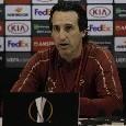 """Arsenal, Emery in conferenza: """"Prestazione positiva contro un grande Napoli: li abbiamo sorpresi, vogliamo vincere e andare in Champions"""" [VIDEO CN24]"""
