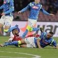 Napoli-Arsenal, le pagelle: Milik inguardabile, Meret che errore! Callejon impreciso, Zielinski scompare. Insigne lascia prima del 90'