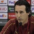 """Arsenal, Emery: """"Siamo stati bravi stasera, il loro tifo è sempre molto caloroso. Napoli, grande squadra"""""""