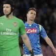 """Il commento della SSC Napoli: """"Unica squadra italiana ai quarti di Europa League! Finisce la nostra avventura, ma da lunedì..."""""""