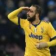 """Higuain: """"Mai pentito di aver lasciato Napoli. Sono passati anni, ognuno pensa quello che vuole. Ma ho fatto bene"""""""