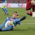 Infortunio Chiriches, la spalla preoccupa il Napoli: non è la prima volta che gli dà problemi