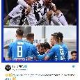 """La UEFA celebra il Napoli: """"Quale altra squadra in Champions dopo la Juve e gli azzurri?"""" [FOTO]"""