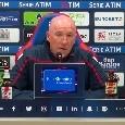 """Rigore Napoli-Cagliari, Maran fa dietrofront: """"Pensavamo fosse un errore, però..."""""""