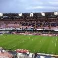 Stadio San Paolo, anello inferiore completamente senza sediolini: proseguono i lavori [FOTO CN24]