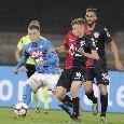 """Cagliari, Barella: """"A Napoli abbiamo dimostrato di voler fare ancora bene. Sul tacco a Pavoletti..."""""""