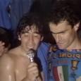 10 maggio 1987: il Napoli vince il primo scudetto, Maradona fa festa negli spogliatoi. La città impazzisce [VIDEO]