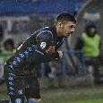 Ultimo cambio per Ancelotti: dentro il giovane Gaetano, fuori Younes