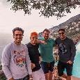 Vacanze campane per il Chicharito Hernandez: l'attaccante del West Ham è ad Amalfi [FOTOGALLERY]