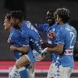 Il giorno dopo...Napoli–Inter: Milik <i>sporca</i> i sediolini nuovi, la speranza prossima e il famigerato gap fatturato