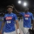 """Koulibaly: """"Che emozione gli applausi del San Paolo per il premio e a fine gara"""""""