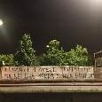 """""""Ercolano ed Esposito, anche i vostri figli si vergognerebbero di voi"""": Milano tappezzata di striscioni contro la Curva A [FOTOGALLERY]"""