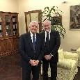 """Regione Campania, De Luca: """"Auguri affettuosi ad Aurelio De Laurentiis per i suoi primi settant'anni e per una nuova stagione di successi"""""""